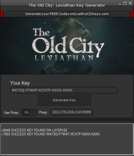 The Old City: Leviathan cd-key
