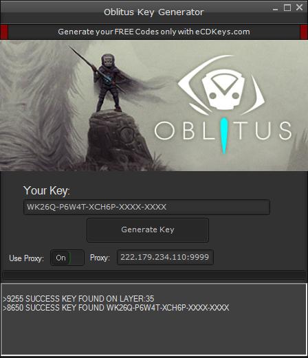Oblitus cd-key