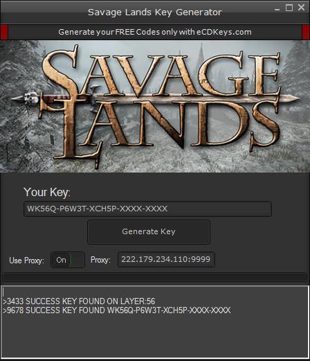 Savage Lands cd-key