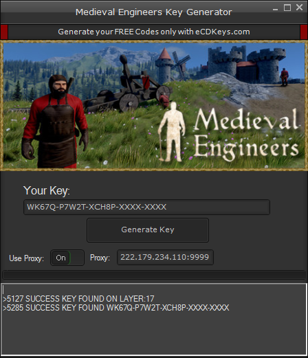 Medieval Engineers cd-key