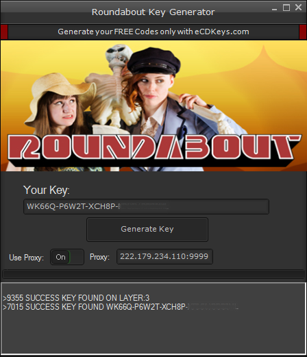 Roundabout cd-key