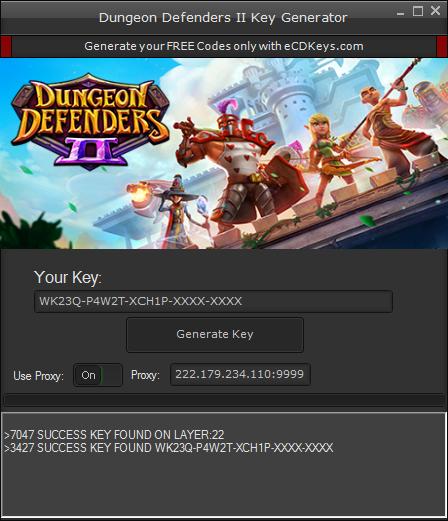 Dungeon Defenders II cd-key
