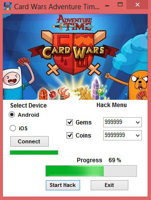 Card Wars Adventure Time Hack