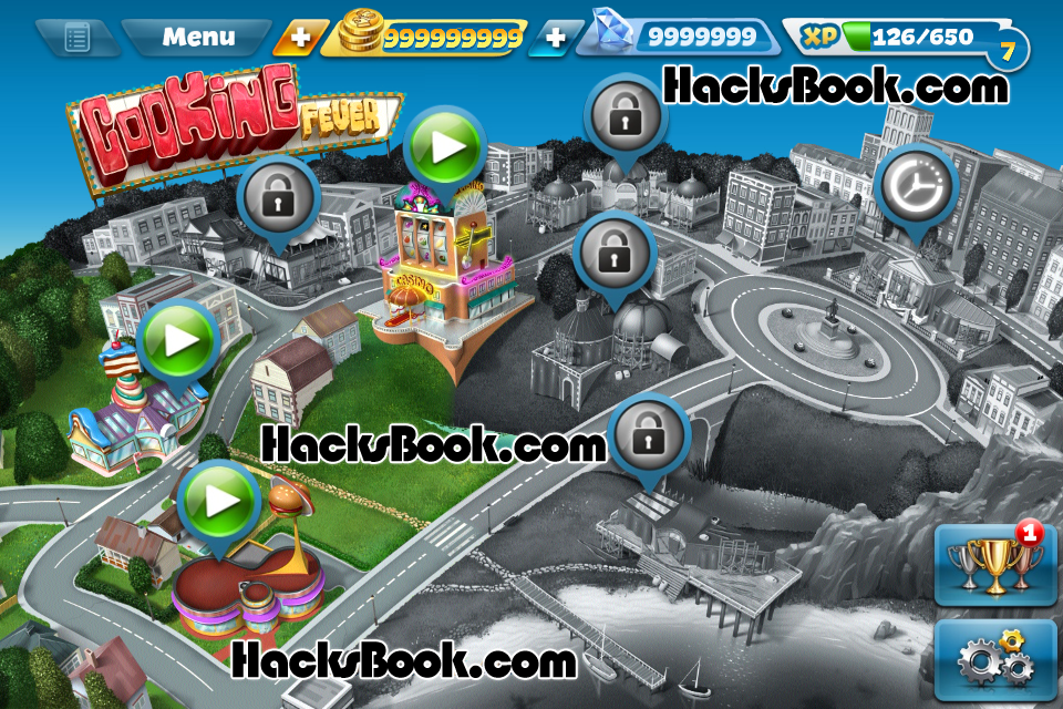 cooking fever hack androidios 20141 Cooking Fever Hack (Android/iOS) 2014