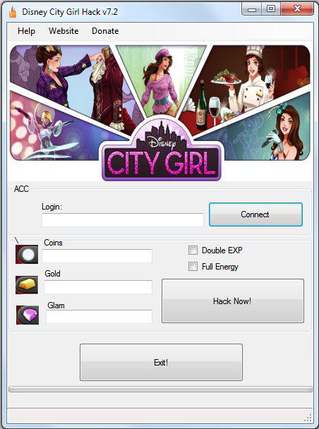 Disney City Girl Hack