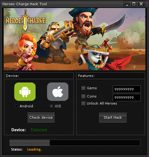 heroes charge hack androidios 2014 Heroes Charge Hack (Android/iOS) 2014