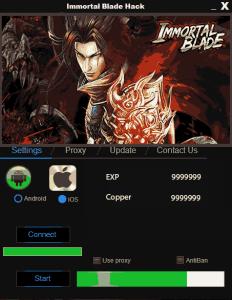 Immortal Blade Hack Tool