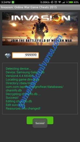Online War Game Cheats & Hack