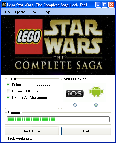 lego star wars the complete saga hack tool download Lego Star Wars: The Complete Saga Hack Tool Download