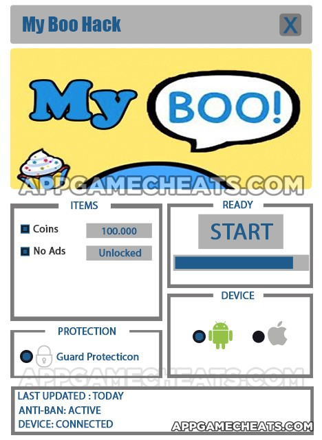 My Boo Hack for Coins & No Ads Unlock