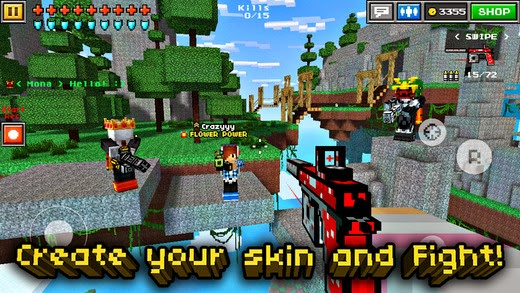 Pixel Gun 3D Hack tool cheats Android/iOS