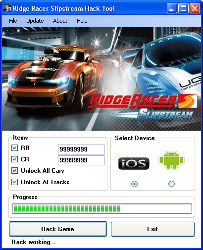 ridge racer slipstream hack tool download Ridge Racer Slipstream Hack Tool Download