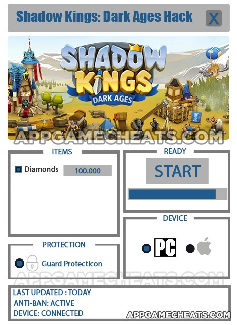 Shadow Kings – Dark Ages Hack for Diamonds