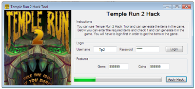 Temple Run 2 Ultimate Hack for Gems and Coins