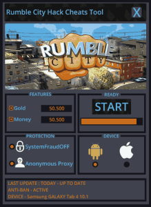 Rumble City Hack