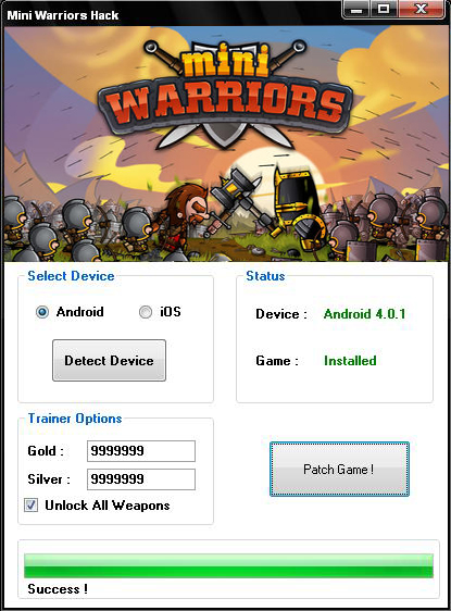 Mini Warriors Hack