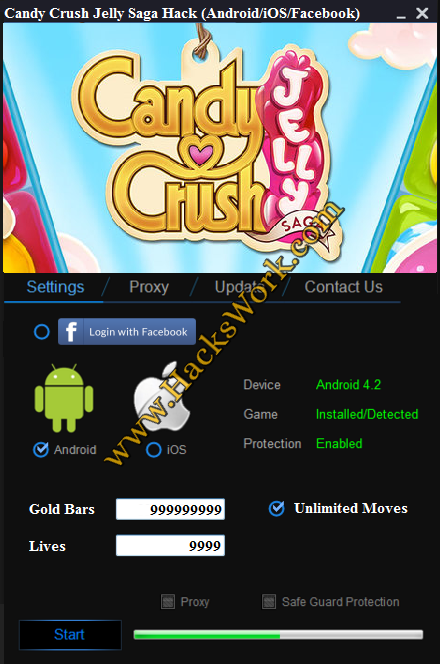 Candy Crush Jelly Hack
