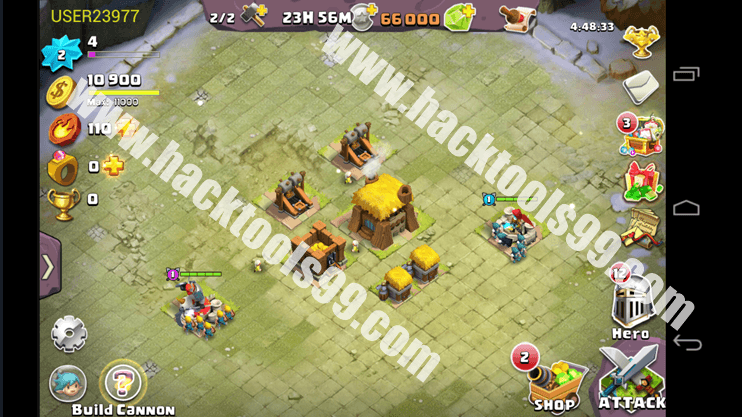 Clash of Lords 2 Hack Working Proof