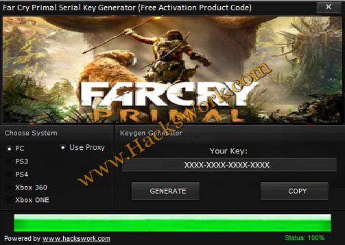 Far Cry Primal Serial Key