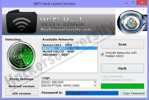 Wifi Hacker v 5.6