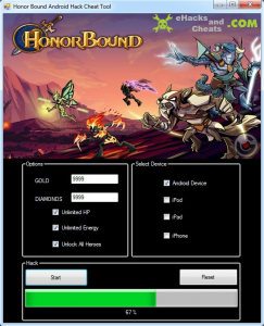 HonorBound Cheats / Hacks Tool