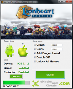 Lionheart Tactics Hack