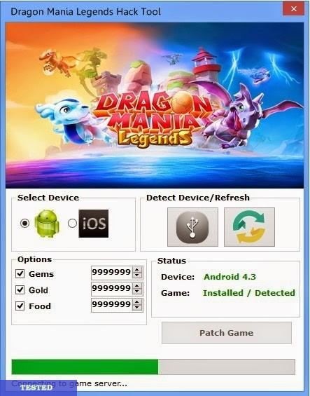 Dragon Mania Legends Cheat Hack