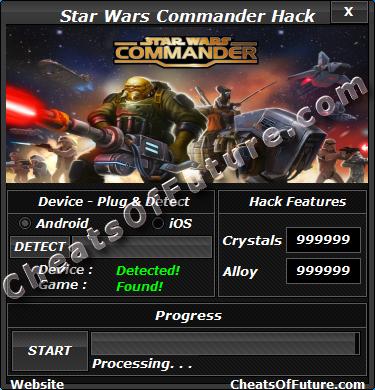 Star Wars Commander Hack Tool