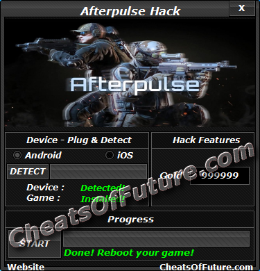 Afterpulse Android iOS Hack Cheat Unlimited jewels generator