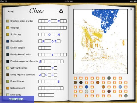 Crossword Painter HD Cheats and Hacks