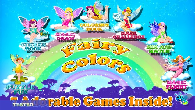 Fairy Colors – Magical Draw and Paint Coloring Book HD Cheats and Hacks