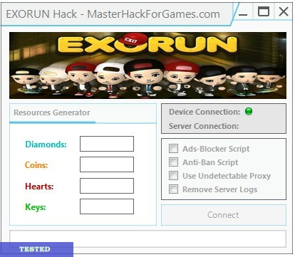 EXORUN Hack Cheats