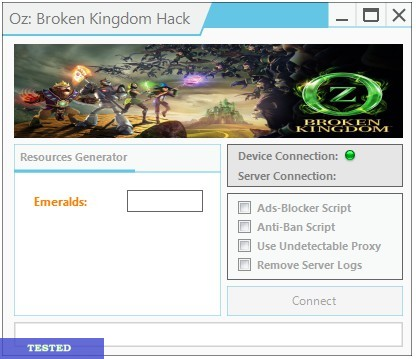 Oz Broken Kingdom Hack