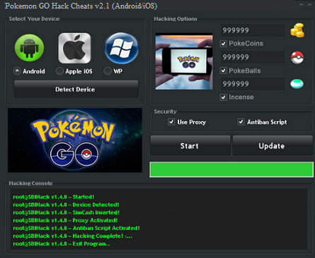 Pokemon GO Hack Cheats (Android/iOS)