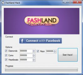 Fashland Cheat Unlimited Diamonds and Coins Hack by Cheat Engine  Fashland Cheat Infinite Diamonds and Coins Hack by Cheat Engine Trainer new overhaul and 100% work. Get this hack for nothing, free download, no secret word and no review.