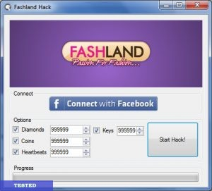 Fashland Cheat Unlimited Diamonds