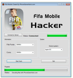 FIFA Mobile Soccer Cheats Hack Fifa Points