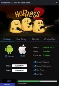 Hopeless 2 Hack Cheat
