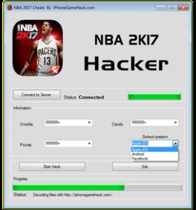 NBA 2K17 Cheats Hack VC Credits Cards Reward Points