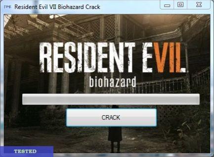 RESIDENT EVIL 7 BIOHAZARD CRACK