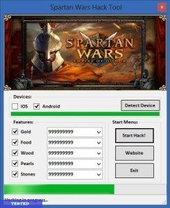 Spartan Wars Empire of Honor Hack