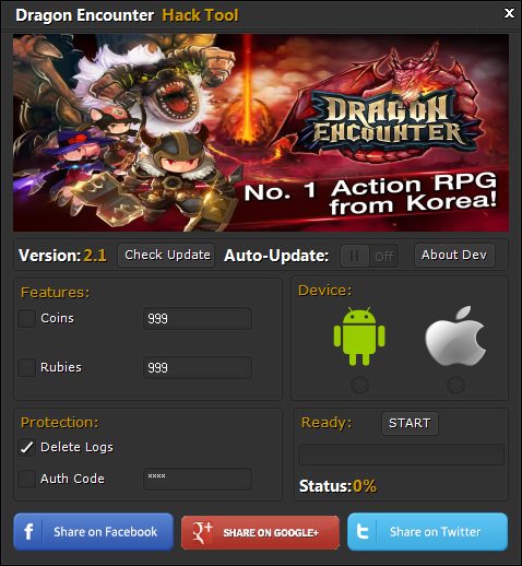 Dragon Encounter Hack Cheats Tool