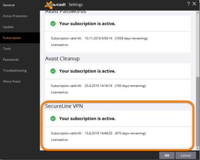 Avast Secureline VPN License Key Generator 2017