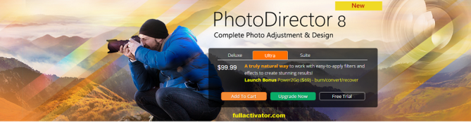 Cyberlink PhotoDirector 8 Ultra Crack