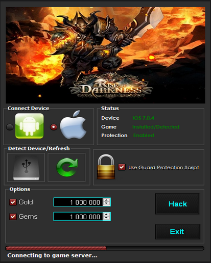 Rise of Darkness Hack Cheats Tool Updated Version