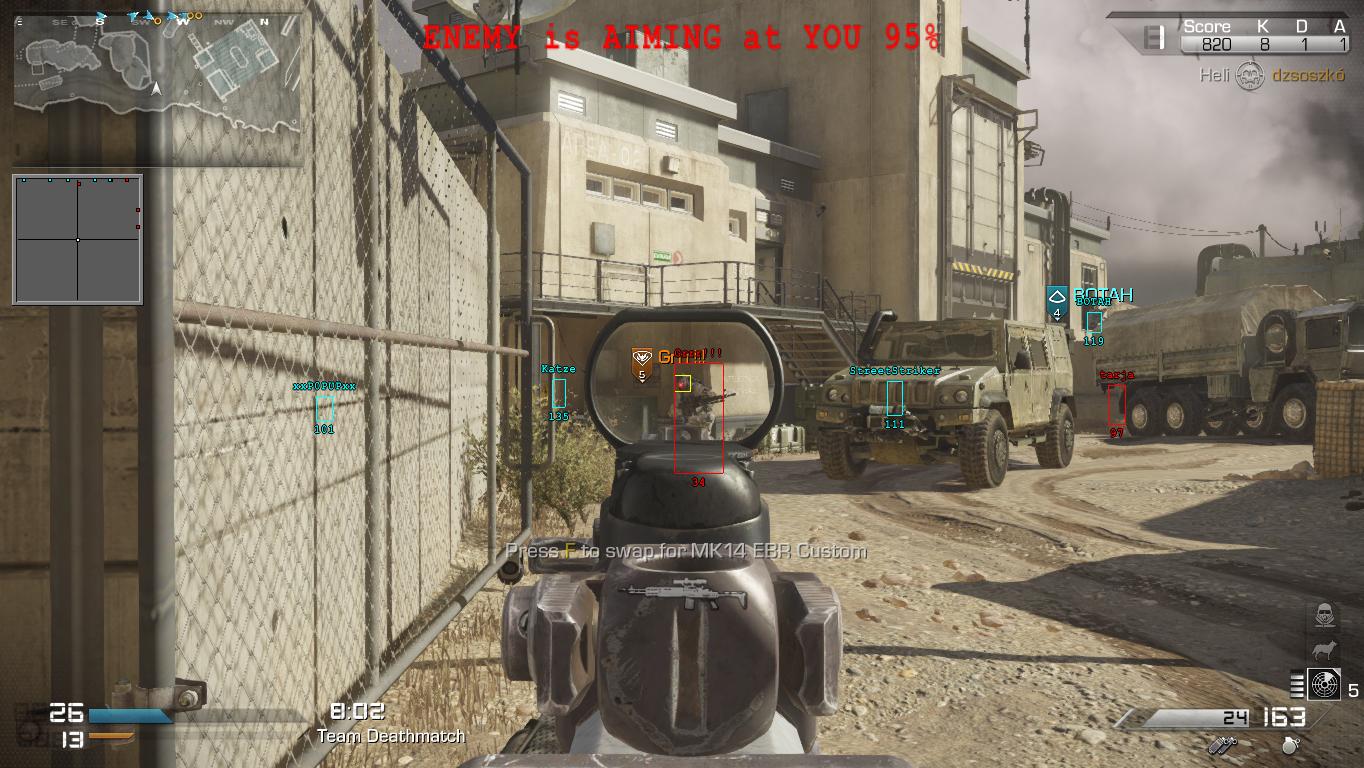 Call of Duty Advanced Warfare Aimbot Download