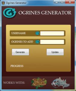 Ogrines Generator Hack
