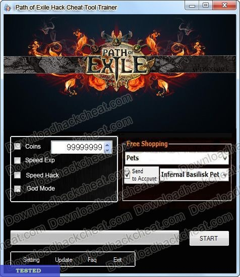 Path of Exile Hack Tool