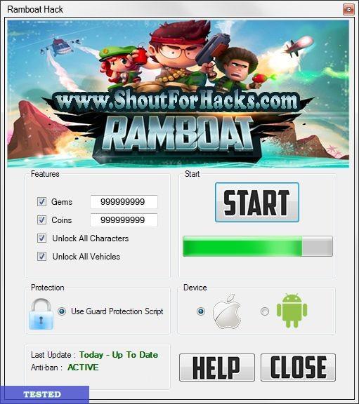 Ramboat Hack Tool