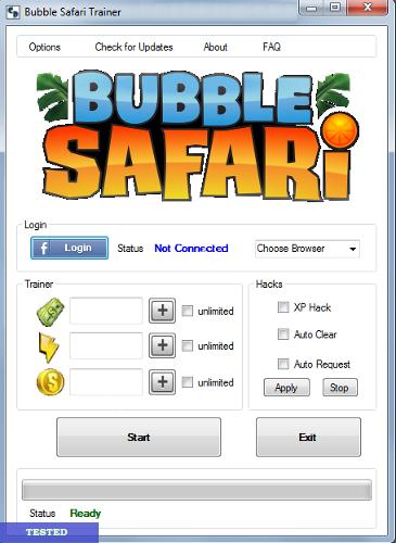 Bubble Safari Hack